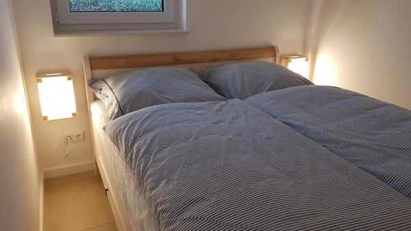 Schlafzimmer Ferienwohnung Rügen 2, Alt Reddevitz 108, 18586 Mönchgut