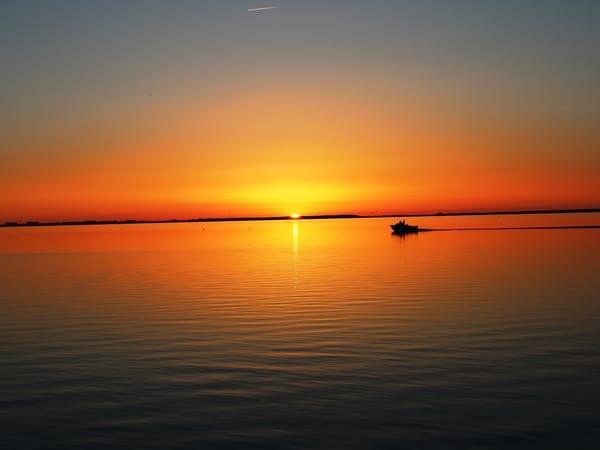 Saaler Bodden - Sonnenuntergang