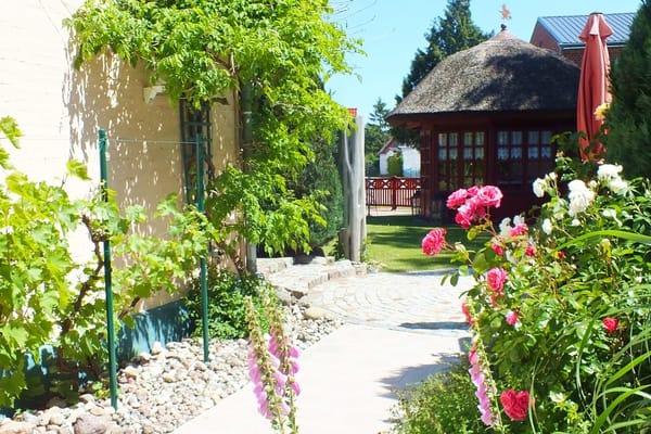 Garten rund um das Klönhus