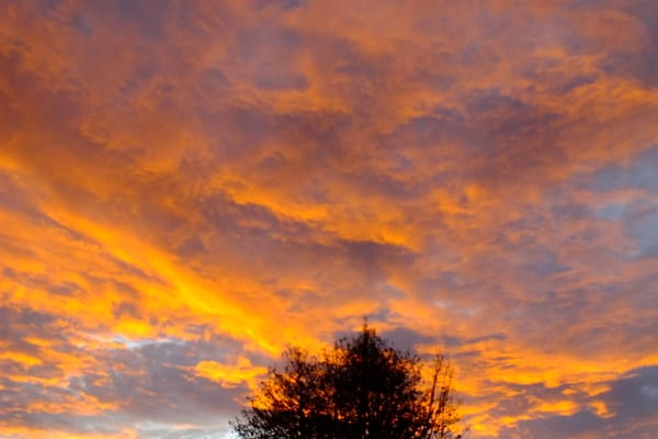 der Himmel über Prerow