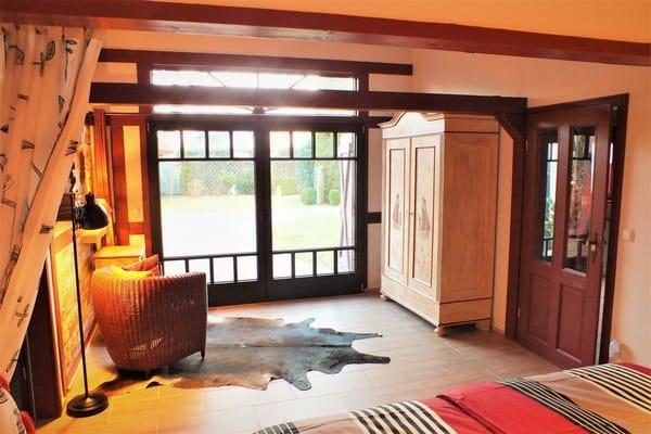 1. Schlafzimmer mit Klön- und Leseecke