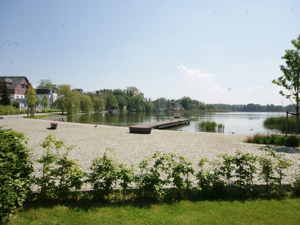 am Schloonsee in Bansin
