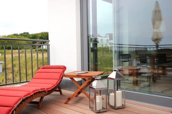 Terrasse vom Wohnbereich