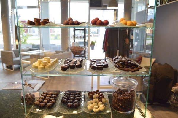 Leckeres bei der Schokoladen-Manufaktur