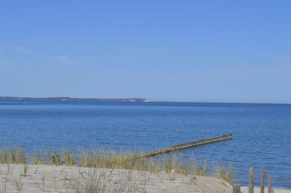 Strand von Glowe mit Blick auf Kap Arkona