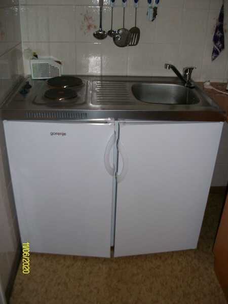 MIniküche mit Kühlschrank