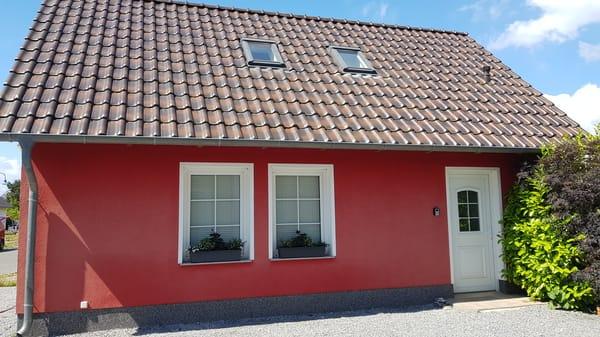 Aussenansicht Dachfenster OG Ferienwohnung Rügen 3