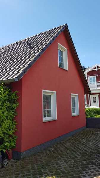 Aussenansicht Badezimmerfenster, Küchenfenster, Schlafzimmerfenster Ferienwohnung Rügen 3