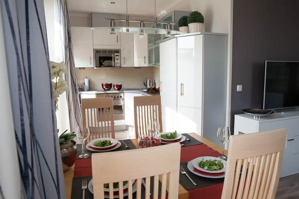 Küche/ Essplatz (Foto Zauberh. Momente)