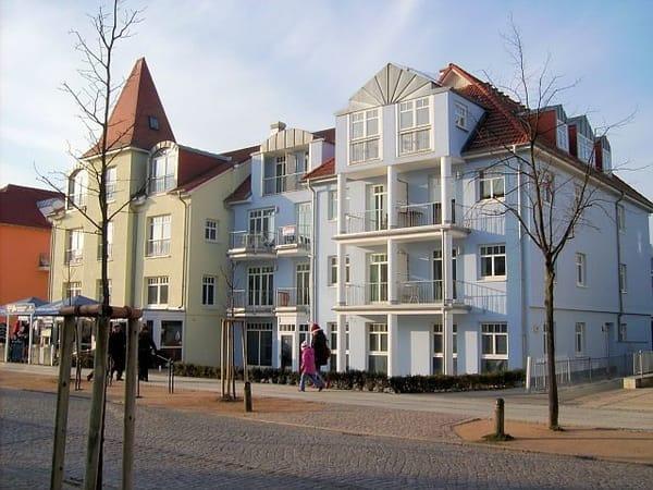 Residenz Villa Strandburg Außenansicht