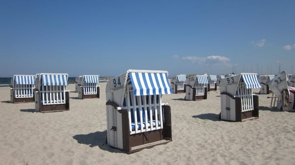 Der Strandkorb ist im Mai, Juni, September gratis mit dabei