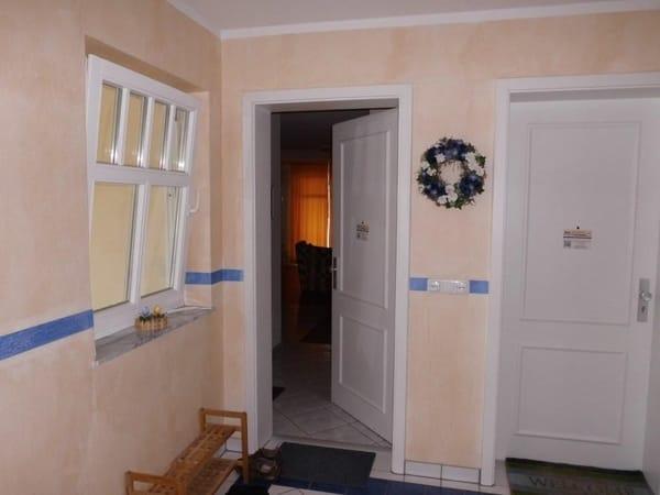 Eingang zur Wohnung Nr. 22