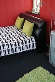 Doppelbett im oberen Turm mit Rundummeerblick
