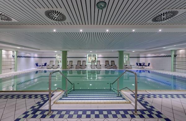 """Poolbereich im benachbarten """"Hotel AQUAMARIN"""""""