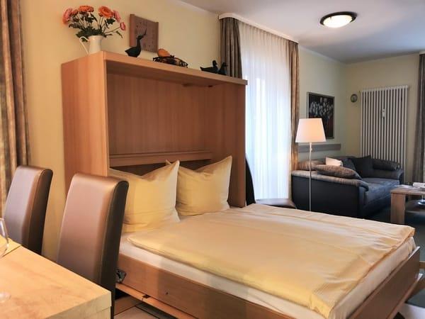 zusätzliches Schrankbett mit bestem Schlafkomfort