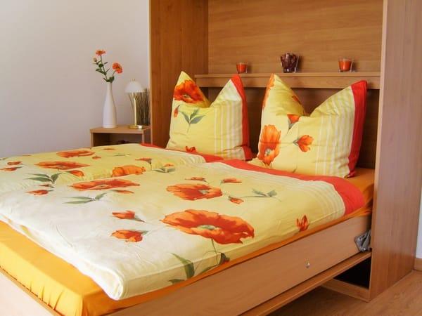 Das ausklappbare Schrankbett mit bestem Schlafkomfort