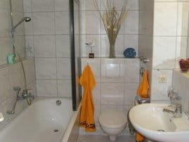 Das freundliche Badezimmer / WC