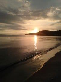 Der Binzer Sonnenaufgang! Traumhaft schön, wenn man früh aufstehen kann!?