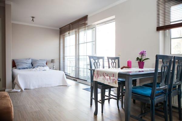 Schlafbereich im Wohnraum