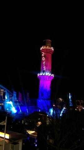 """Am 1 Januar ist immer """"Leuchtturm in Flammen"""""""