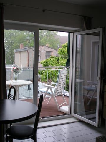 FW1, Blick auf den schönen Balkon
