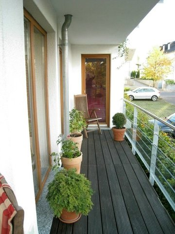 Umlaufender Balkon