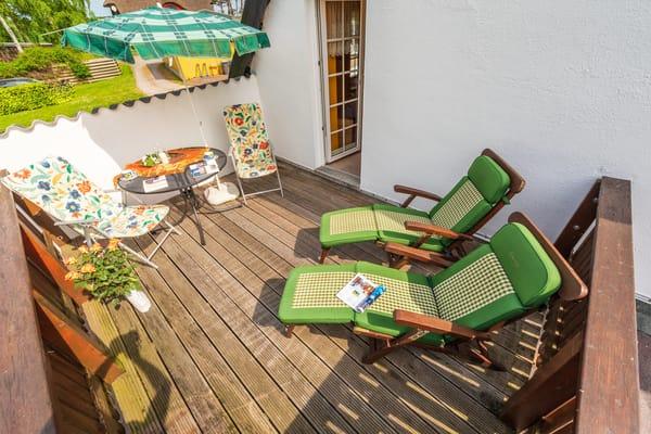 Dachterrasse Schafbergblick