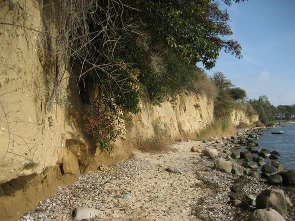 Steilküste bei Thiessow