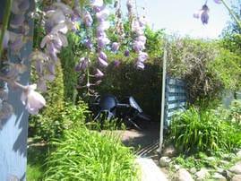 Entspannen im großen Garten
