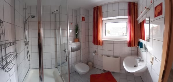 Panoramaansicht Badezimmer