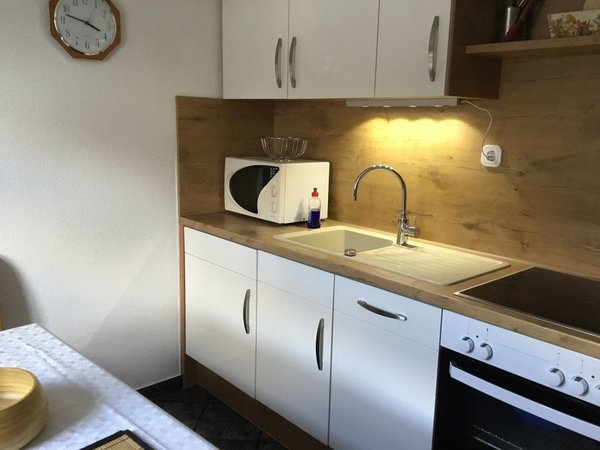 Einbauküche mit Sitzecke