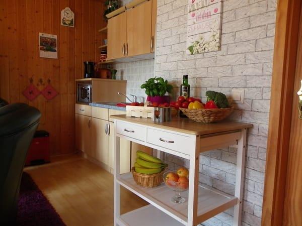 Küchenbereich mit einem Hauch Nostalgie