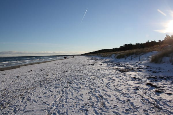 Strand Juliusruh/Breege im Winter