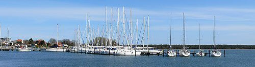 Hafen von Breege