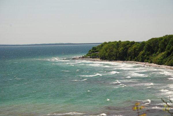 Blick von Steilküste Arkona