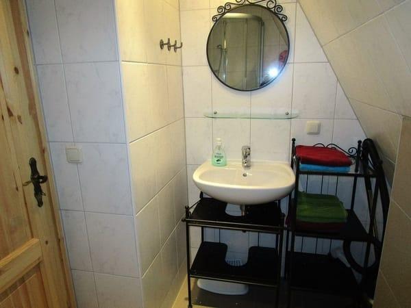 geräumiges Bad mit DU/WC