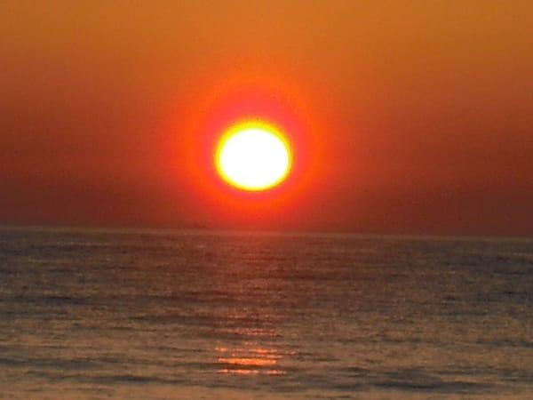 abends sind die traumhaften Sonnenuntergänge nicht zu versäumen