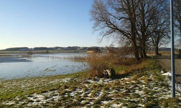 Hochwasser im Winter