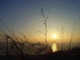 Sonnenuntergang auf dem Schafsberg