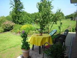 Terrasse zum Entspannen und Grillen