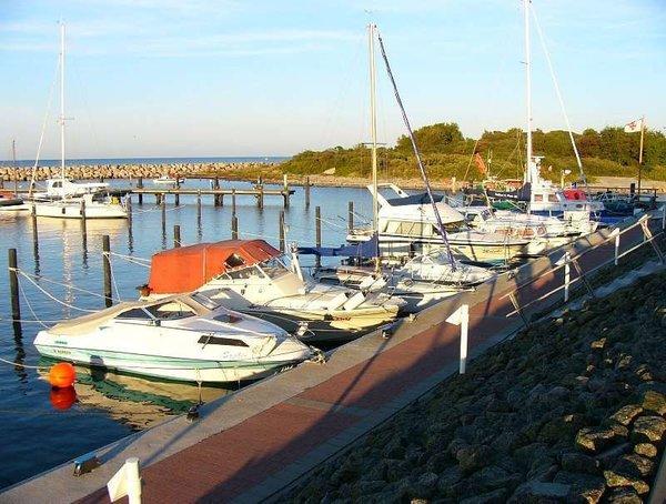 Der Hafen - Anziehungspunkt am Promenadenende