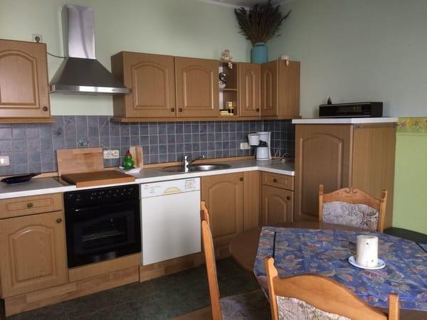 Küche der großen Ferienwohnung