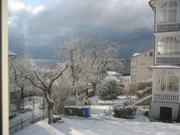 Auch im Winter ist Sassnitz eine Reise wert