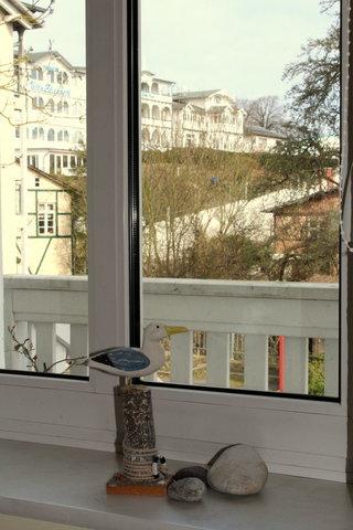 Sehr schöner Blick in die Sassnitzer Altstadt