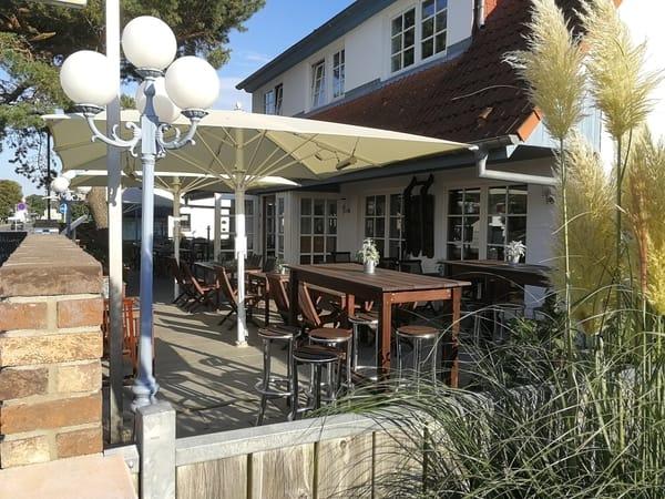 Restaurant mit Terrasse und gehobener Küche