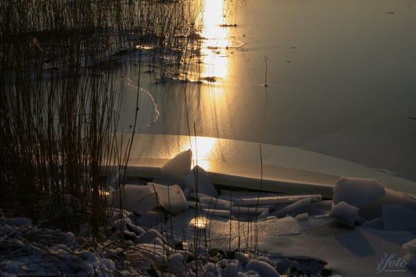 Auch im Winter ist es idyllisch an der Ostsee
