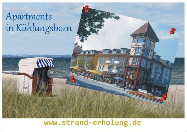 Meine Werbe - Postkarte