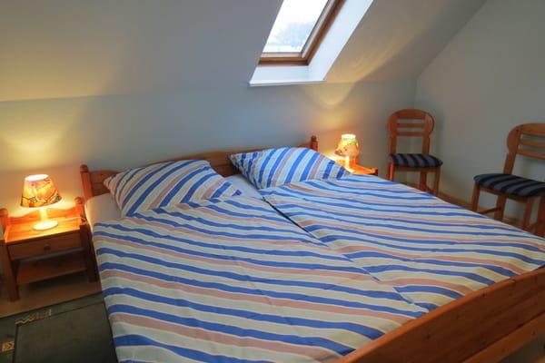 Schlafzimmer 1 im 1. Stk.