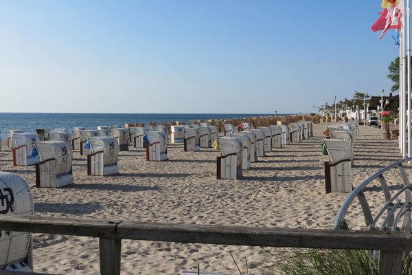 Der schöne Strand von Dahme.