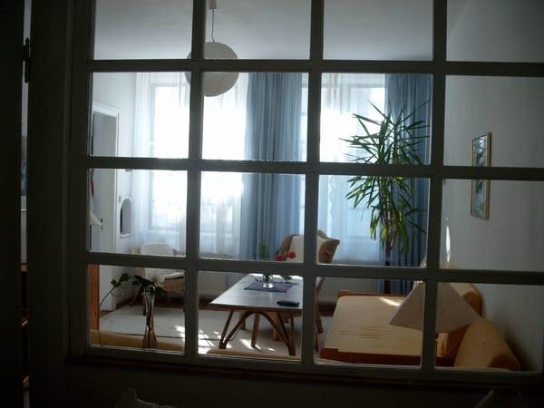 Blick in den Wohnbereich